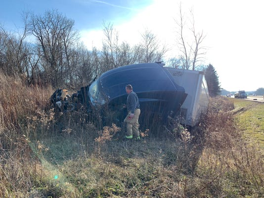 Semi-Truck wreck