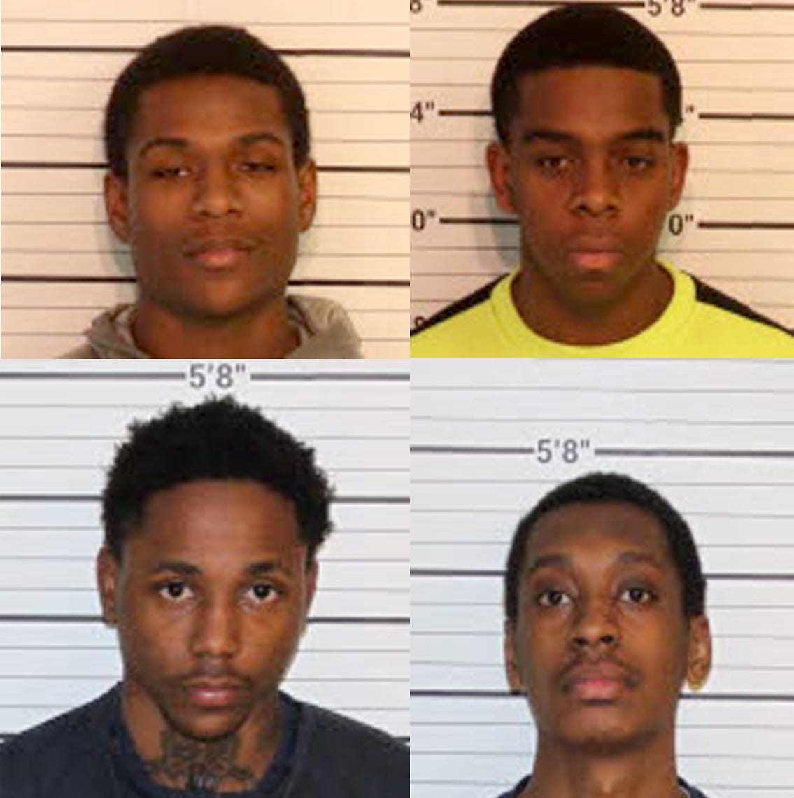 4 charged in Cordova double-homicide case