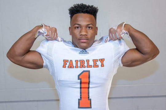 Terry Wilkins is a junior at Fairley High School