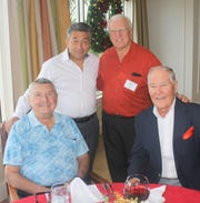 Larry Feissner, Guy D'Errico, Turk Tilev and John Superits