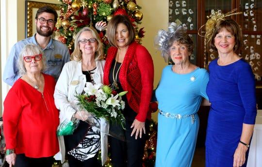 From left: Beverly Dahlgren, Brian Phillip Stewart, Annie Rosemond, Linda Miner, Marlilyn Hilbert and Cindy Hile.