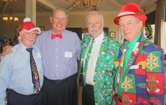 Ed Crane, Ray Seward, MMC president Bill Rogers and Dave Walsh