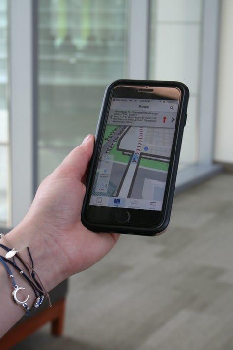 Fmcw Finder App Map