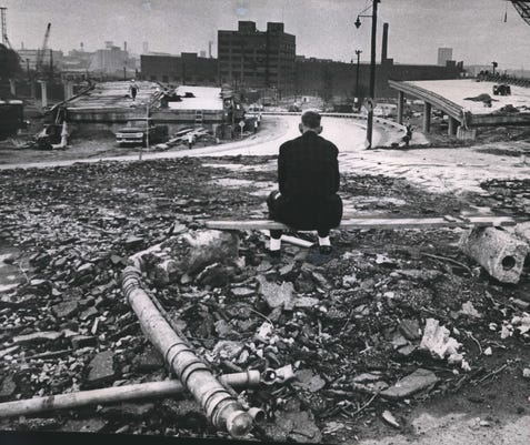 Marquette Interchange 1964