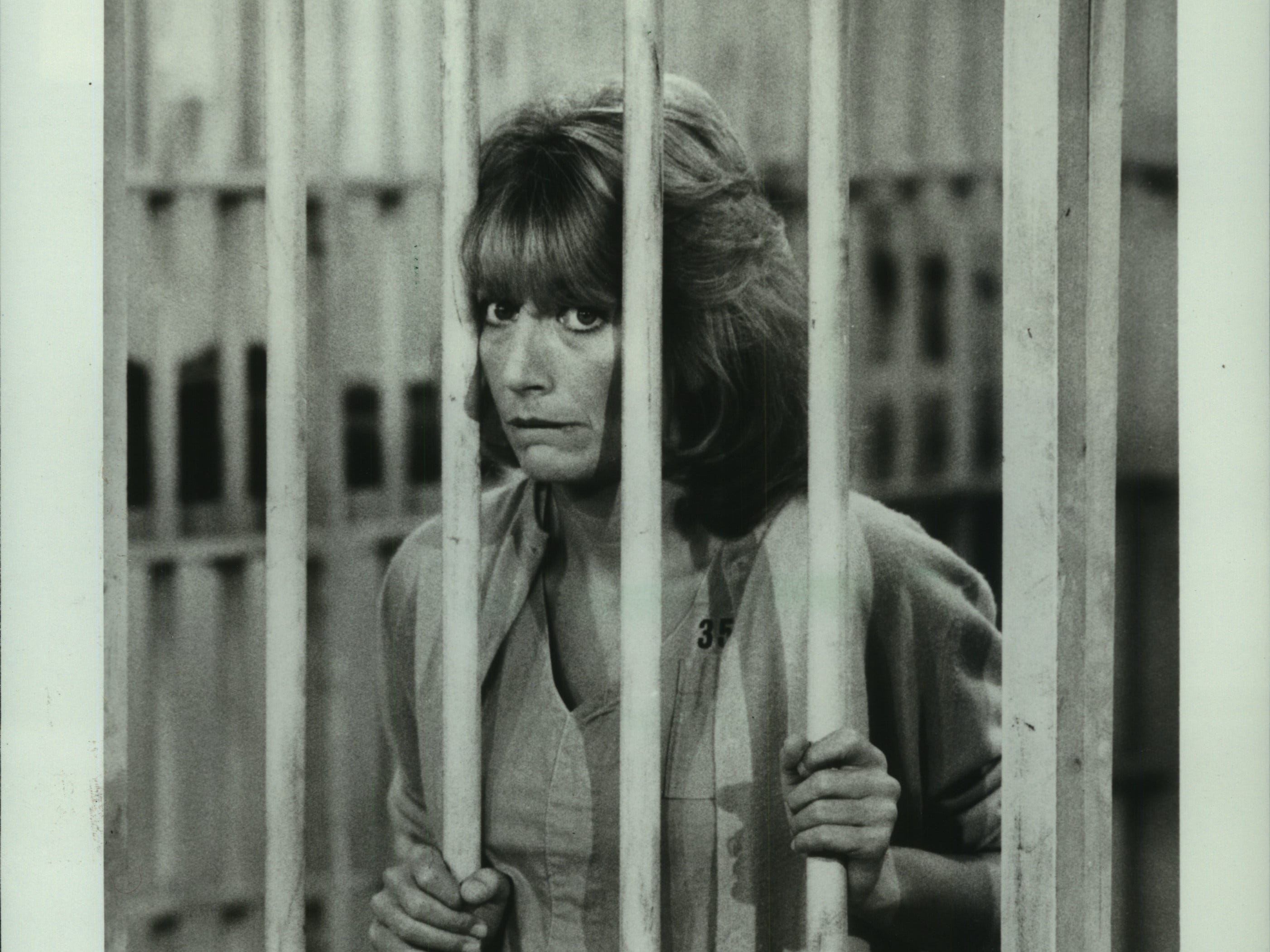 """Penny Marshall appears as Laverne DeFazio in the """"Laverne & Shirley"""" episode """"Death Row"""" on ABC."""