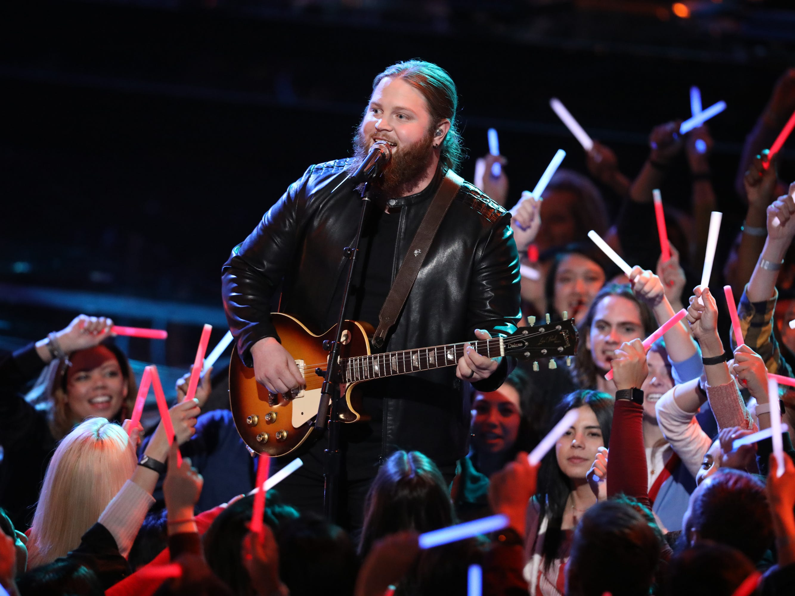 """Chris Kroeze kicked off part one of """"The Voice"""" finale Dec. 17 with his cover of Lynyrd Skynyrd's """"Sweet Home Alabama."""""""