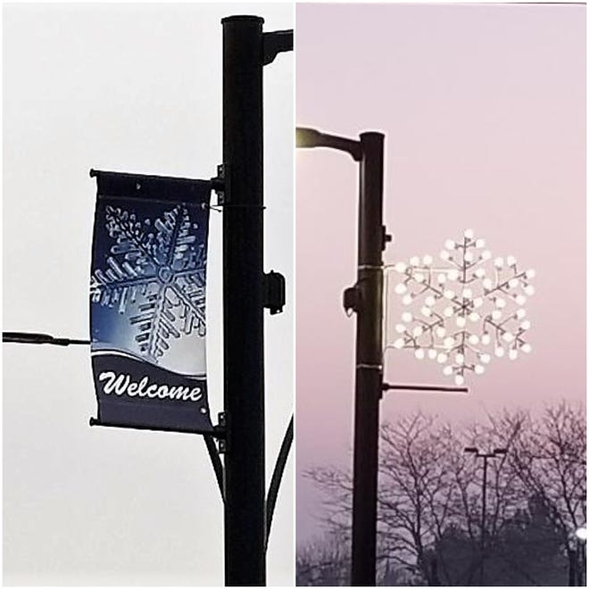 New holiday lights and banners have been giving Layton Avenue a more festive air for the holiday season from 47th to 60th streets. No property tax dollars were used to buy the decorations. Instead, Greenfield used the quality of life fund that comes from selling advertising on billboards on city property to pay for the decorations.
