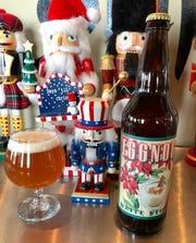 Westallion Brewing created Eggnog White Stout for the holiday season.