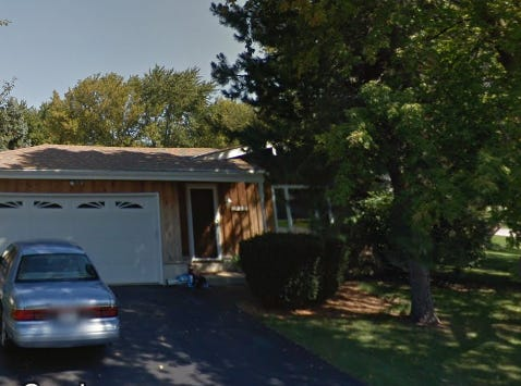A gas explosion blew the door open on an oven at S71 W16872 Avon Court, Muskego, Saturday morning, Dec. 15. The oven is deemed to be faulty.