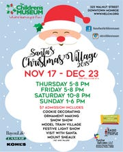 Santa's Christmas Village is this week.