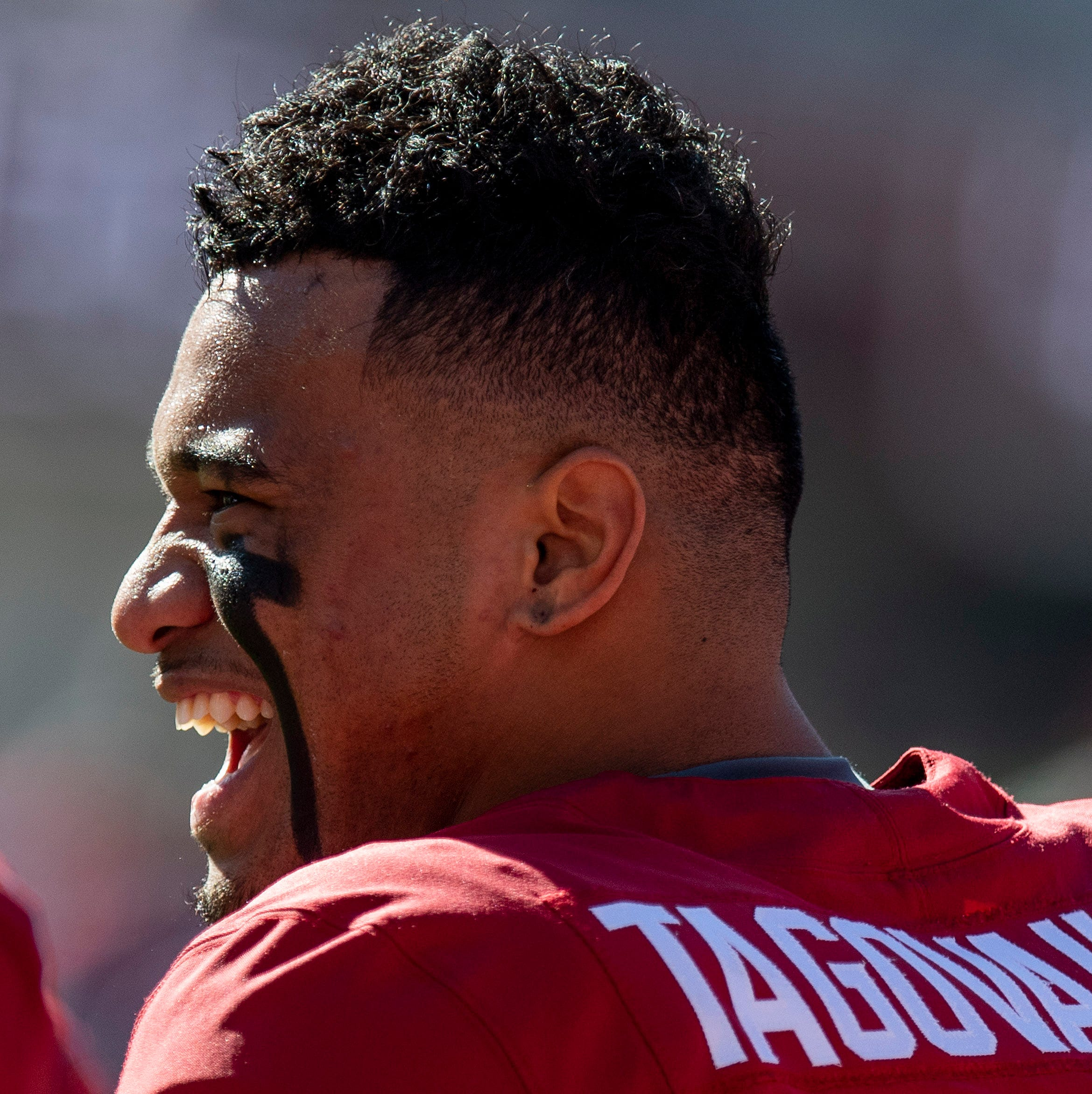 Alabama QB Tagovailoa embracing reunion with Sarkisian as Tide OC