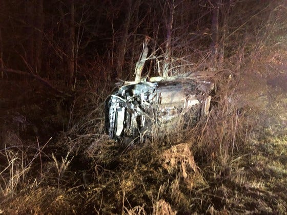 A Muncie man driving a Ford Focus led authorities on a chase through four East Central Indiana counties Monday night, and ended when the car crashed near Centerville in Wayne County.