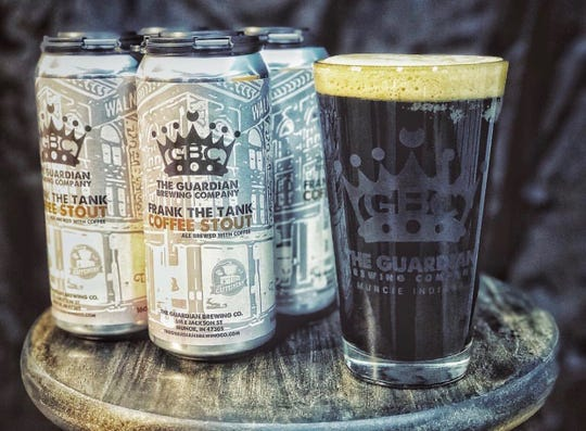 Frank the Tank coffee stout from Guardian Brewing Company.