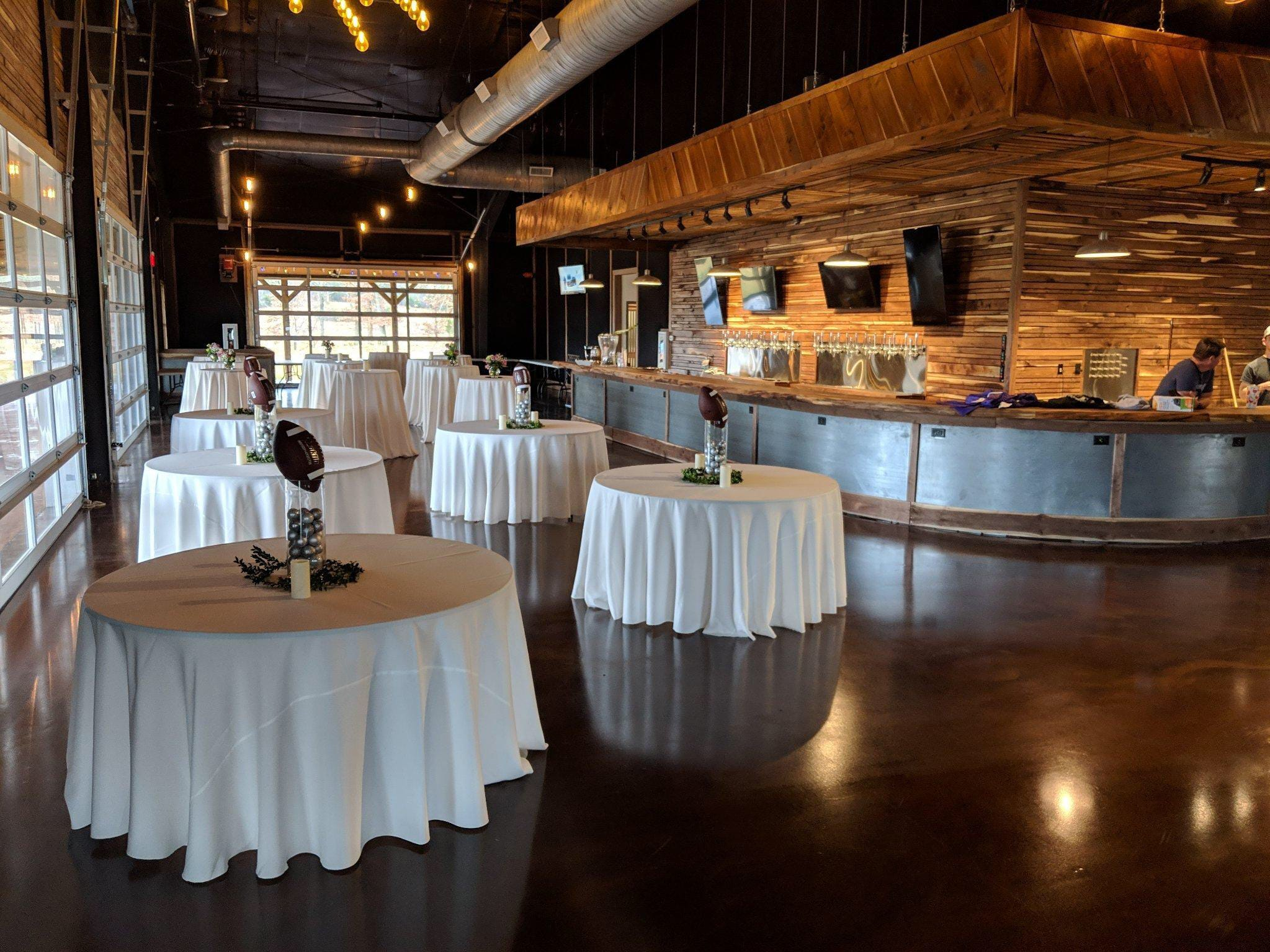 The Hop Springs Taproom can also serve as an event venue.