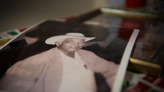 A photograph of Thornton Prince who opened his first hot chicken restaurant in the 1930's. 