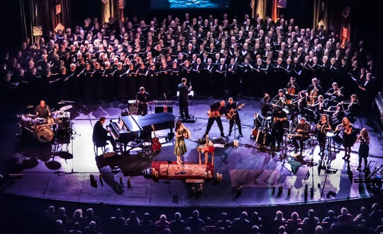 "Keith and Kristyn Getty bring their seventh annual ""Sing! An Irish Christmas"" tour to Schermerhorn Symphony Center on Friday."