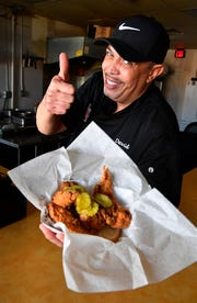 "Moore's Famous Fried Chicken tops our list of the 5 best hot chicken places in Nashville. ""It's all about the flavor"" owner David Moore says, Monday, Dec. 17, 2018, in Hendersonville, Tenn."