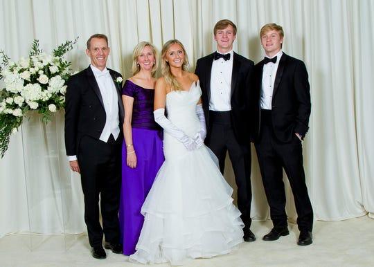Mr. and Mrs. Frank Gordon Pollock Jr., Miss Grace Devereux Pollock, Mr. Fenner Pollock, Mr. Gordon Pollock III