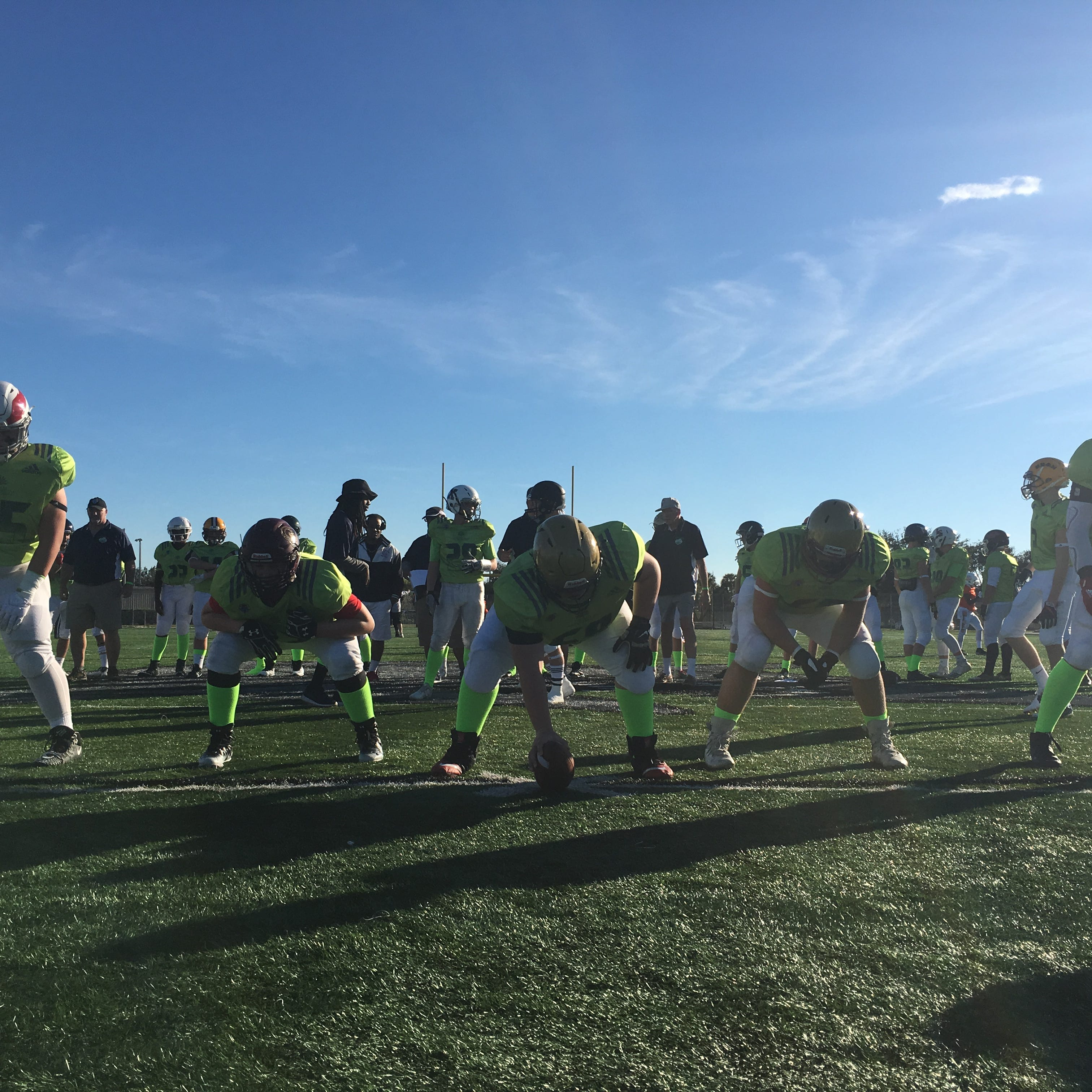 Youth football: Massachusetts Elite brings big line to FBU National Championship