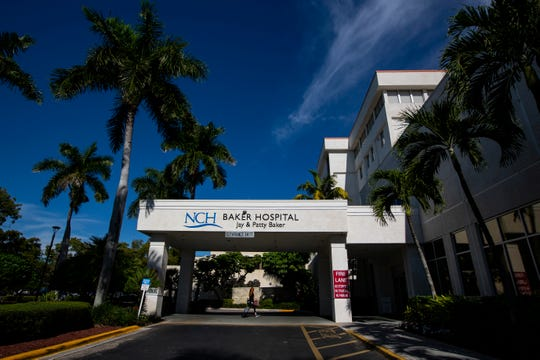The NCH Baker Hospital Downtown from the outside as photographed on Dec. 17, 2018, in Naples.