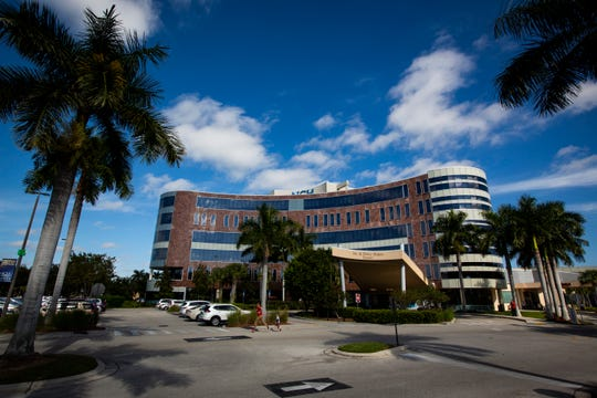 The NCH North Naples Hospital from the outside as photographed on Dec. 17, 2018, in Naples.
