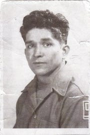 A young Victor Cabrera Rico in n undated photo. Rico served in the U.S. Army during WWII and was deployed to Germany, where he fathered a daughter. He died in 1981 and was buried at Lake Trafford Memorial Gardens in Immokalee.