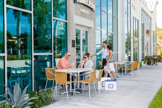 Local business owners are working together to make Naples Design District a popular destination while keeping with its Old Naples vibe.