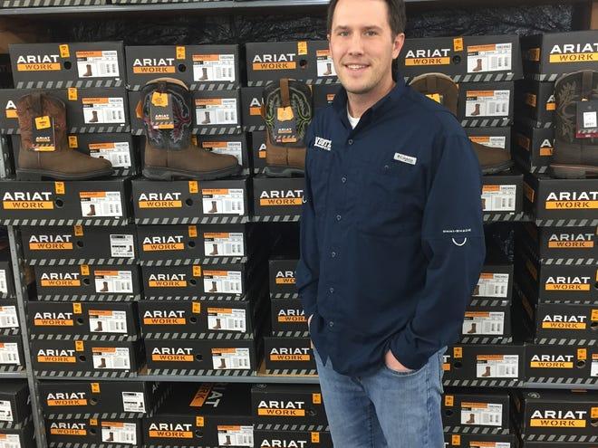 Jason Kurtz is the owner of the new store, Kurtz Boots LLC, at 12751 Worthington Road in Pataskala.