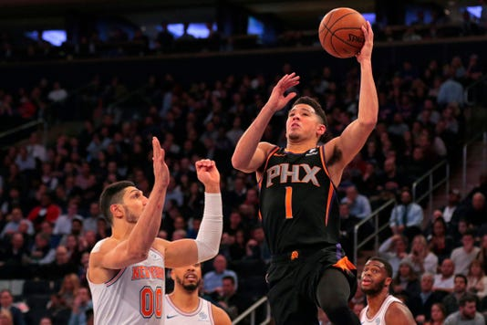 NBA Phoenix Suns at New York Knicks