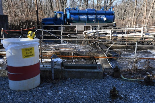 SUEZ, a provider of water and wastewater services in New Jersey, is taking over the services of the West Milford Municipal Utilities Authority. A facility SUEZ is taking over at 1260 Macopin Road on Tuesday, December 18, 2018.