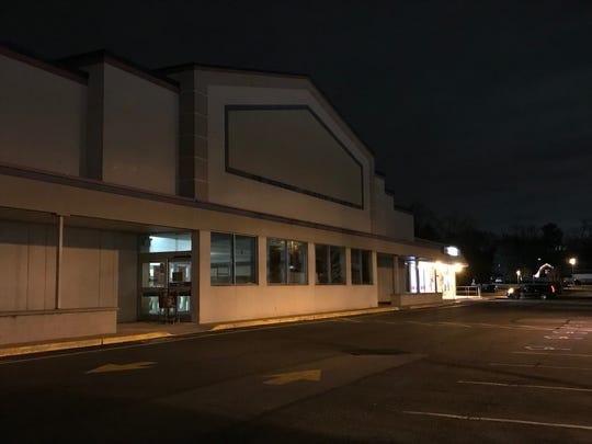 The empty Sears Hardware store on Godwin Avenue in Midland Park.