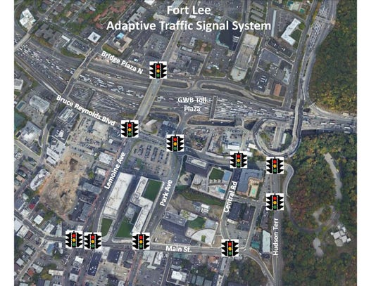 Fort Lee Signal Location Map