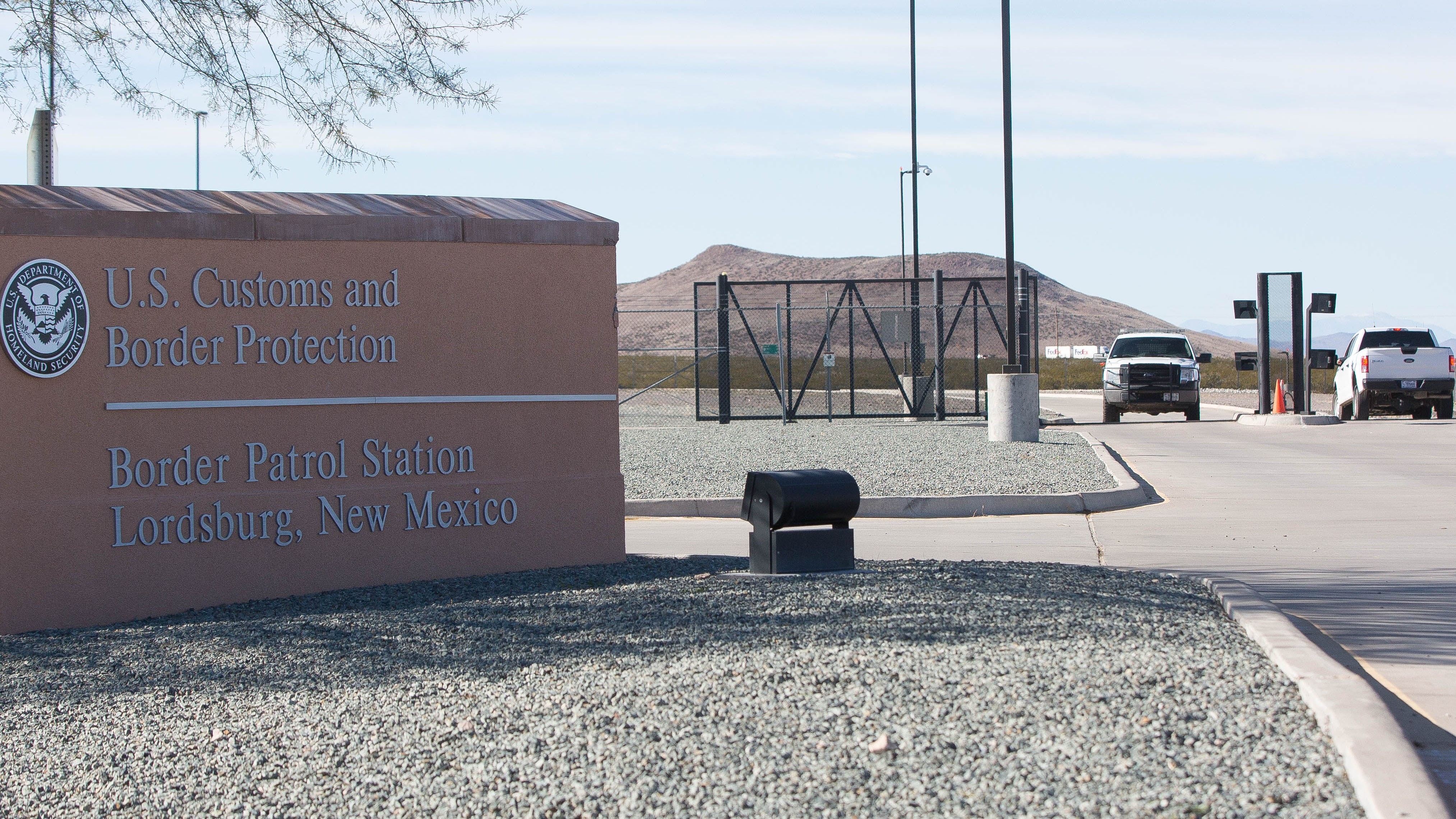 Members of the the Congressional Hispanic Caucus toured the Border Patrol station in Lordsburg, New Mexico on Tuesday, Dec. 18, 2018.