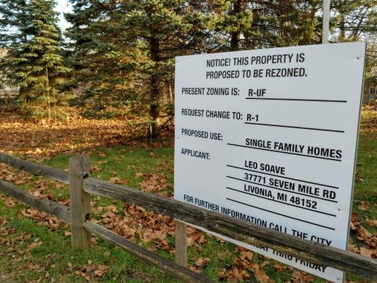 Ann Arbor Trail Property Rezoning