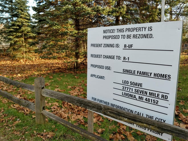 This property is part of a proposed housing development off Ann Arbor Trail between Wayne and Norwich.