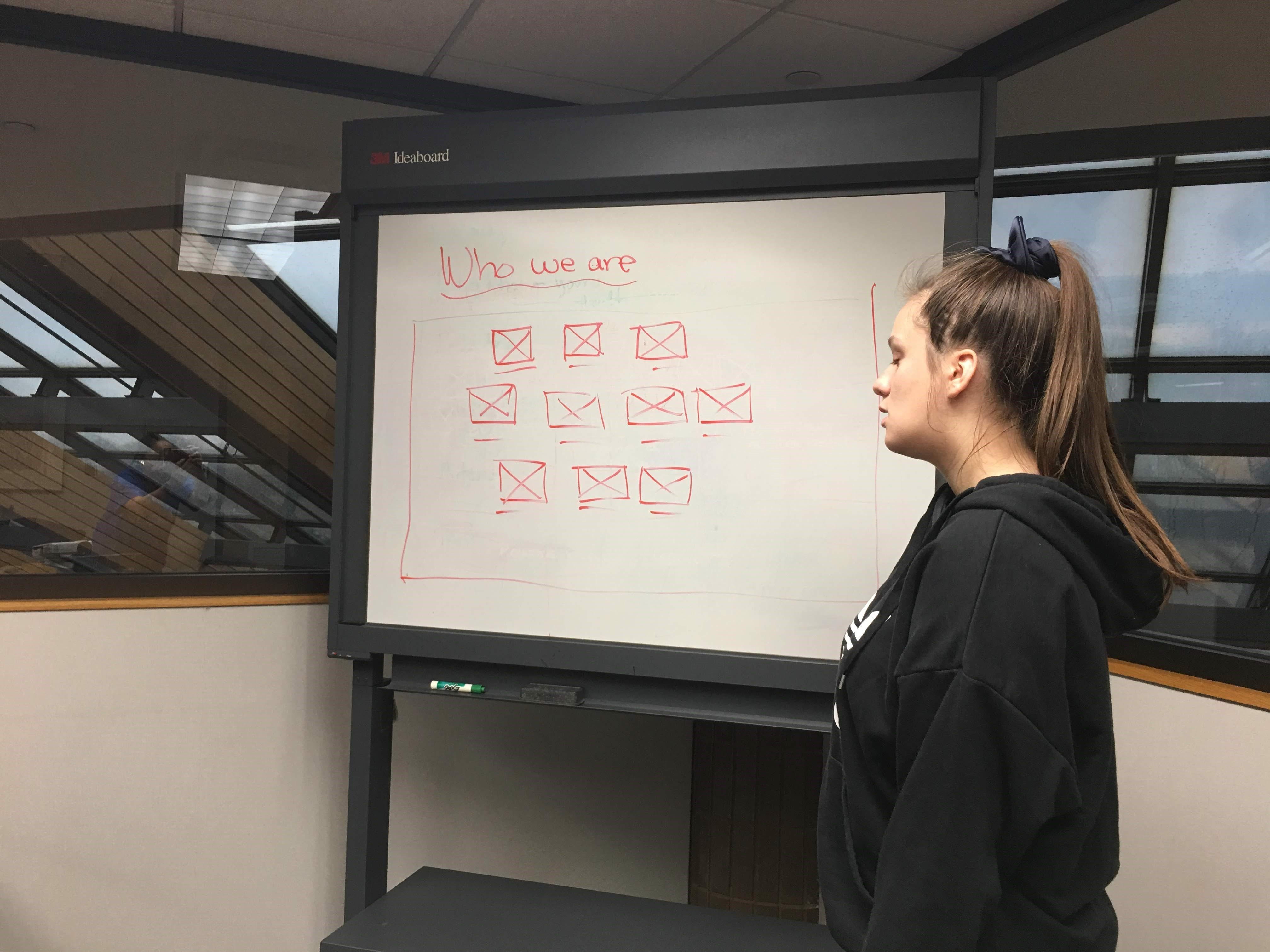 Girls Who Code workshop