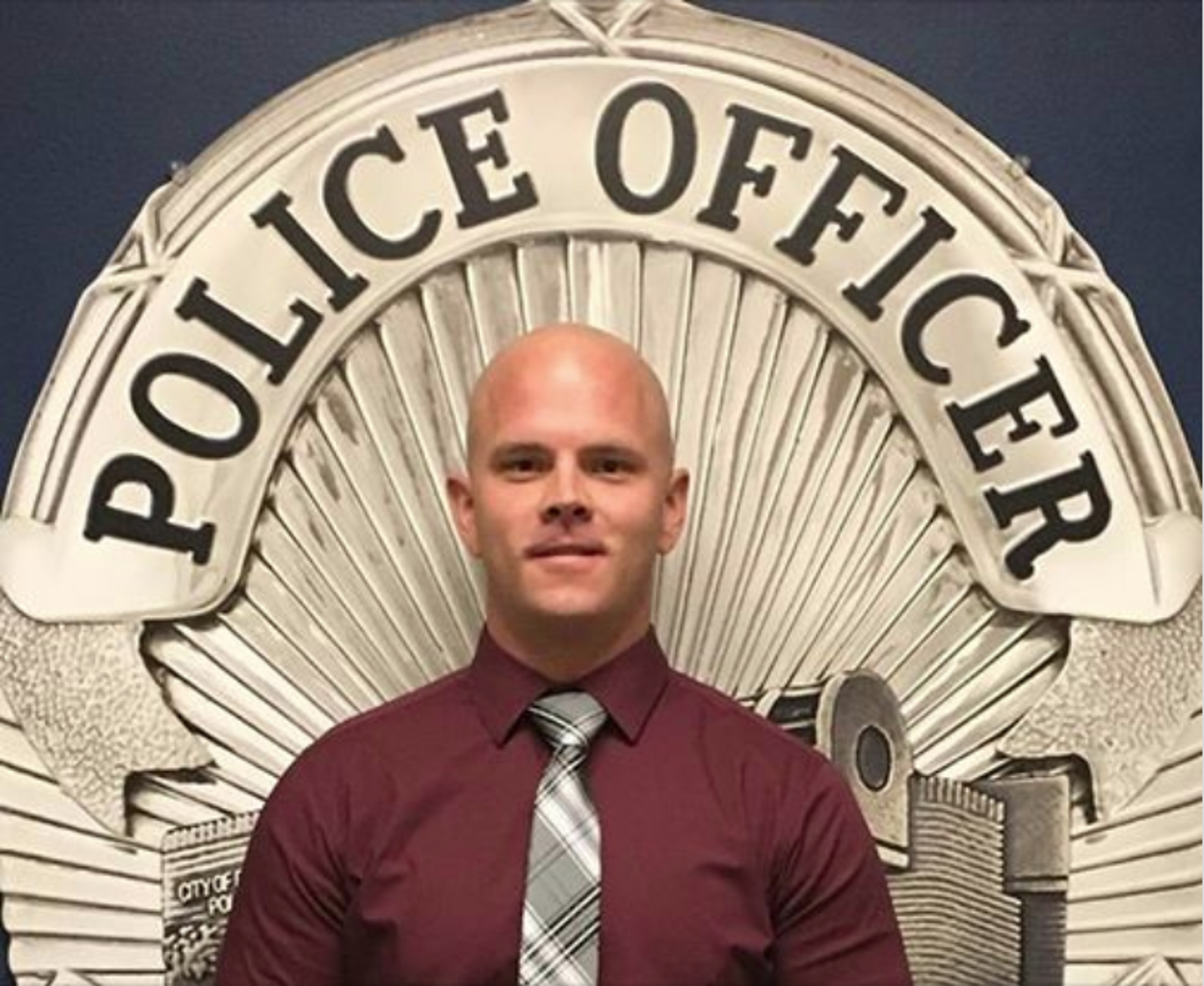 Desert Hot Springs police Officer Travis Chapman