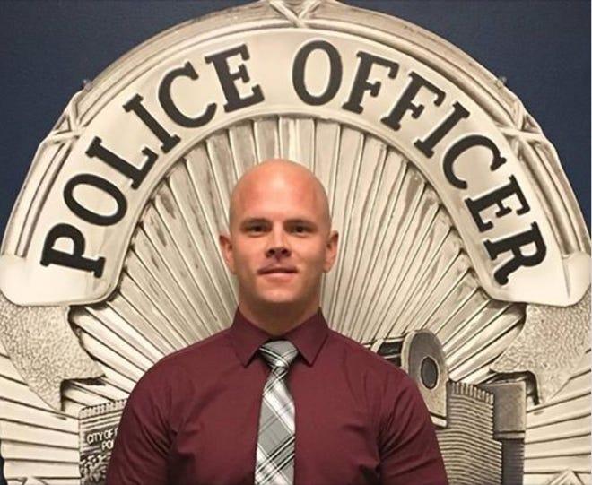 Desert Hot Springs police Officer Travis Chapman