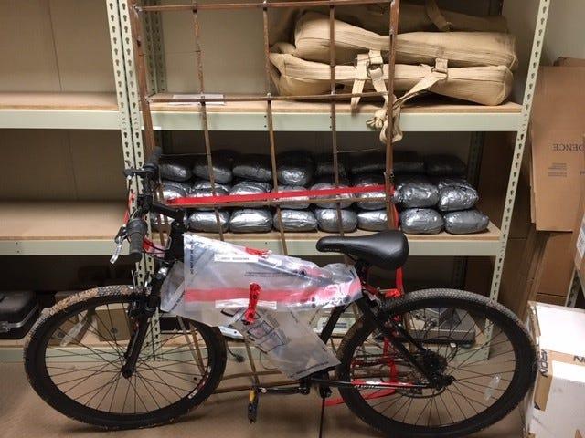 Ultralight aircraft drops meth, getaway bike across US-Mexico border