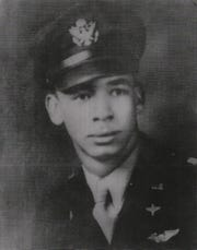 """Lt. James Polkinghorne, a Tuskegee Airman from Pensacola, disappeared during a combat mission over Italy on May 5, 1944. His story is told in the new book """"Lost in Heaven"""" by Leo Murphy."""
