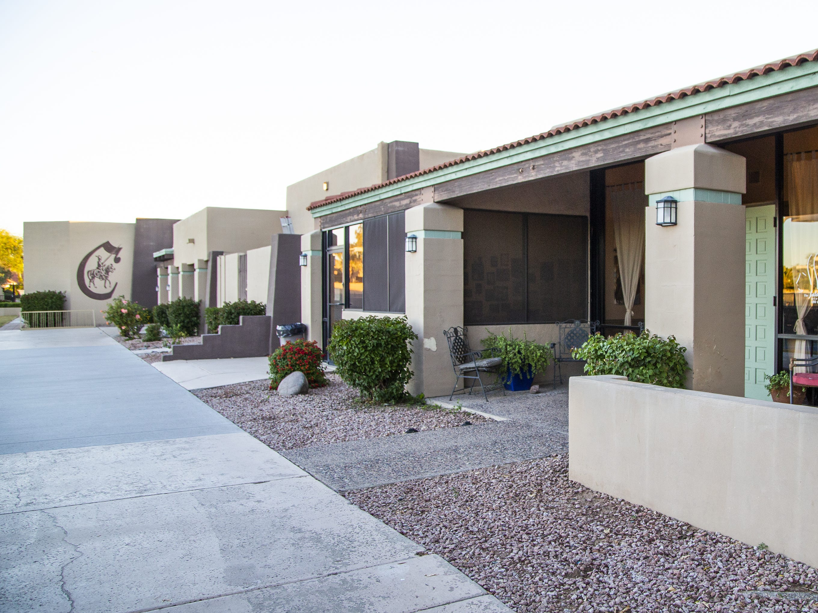 The Exterior of La Camarilla in Scottsdale on Dec. 18, 2018.