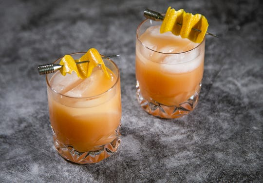 Renowned chef Robin Miller created this pink grapefruit punch.