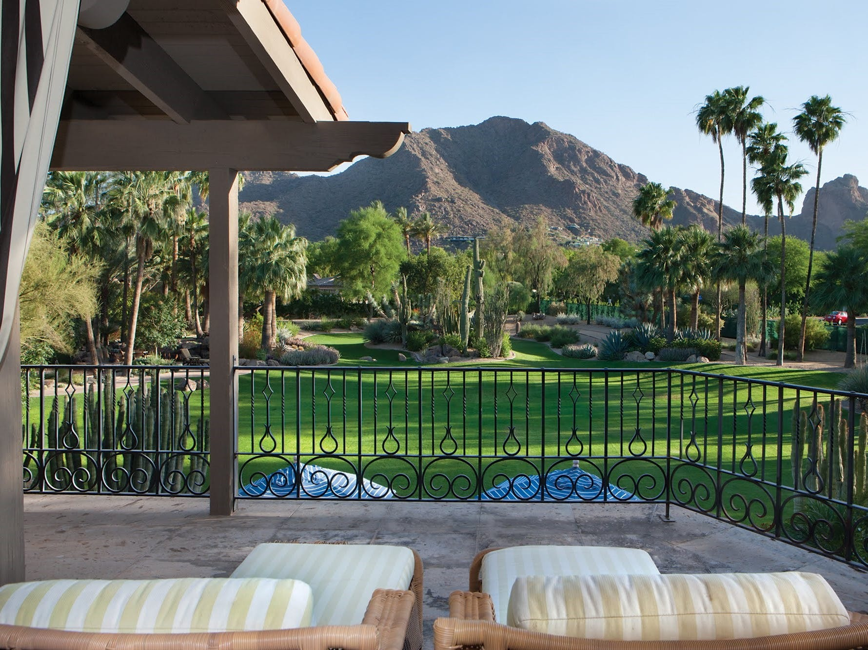 Casa de Arrow, LLC, purchased this mansion in Paradise Valley with unobstructed views of Camelback and Mummy Mountain.