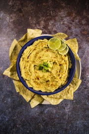Renowned chef Robin Miller created this chili avocado hummus.