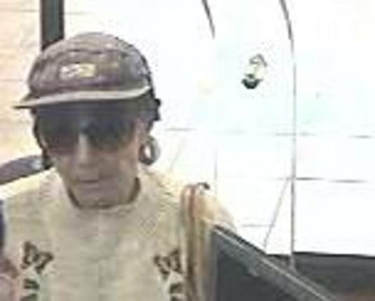 Biddy Bandit bank robber