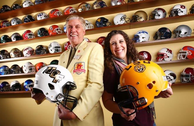 Rob Drake and his daughter Alexandria continue a legacy of volunteerism with the Fiesta Bowl.
