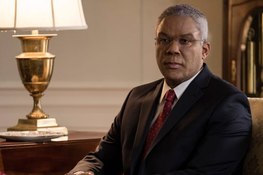 """Tyler Perry plays Colin Powell in """"Vice."""""""