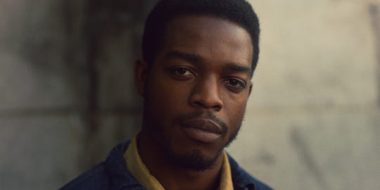 "Stephan James stars in ""If Beale Street Could Talk."""