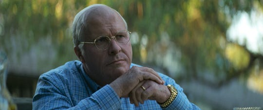 "Christian Bale plays Dick Cheney in ""Vice."""