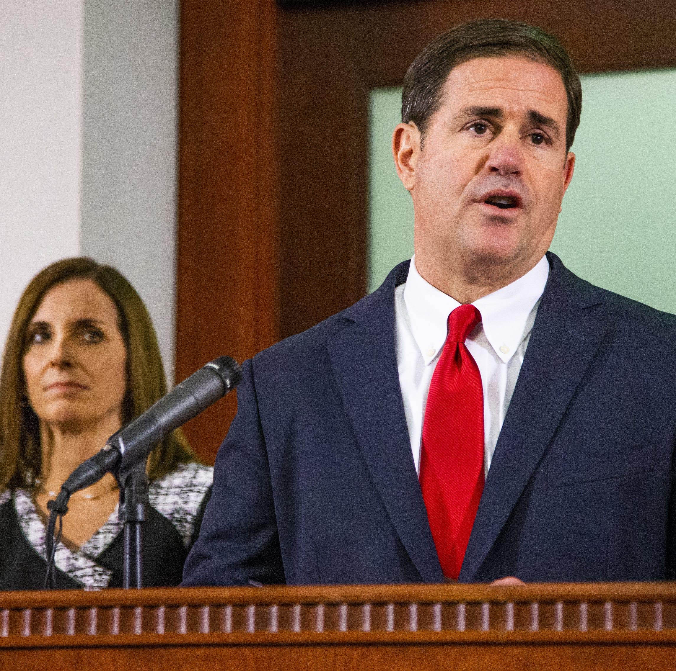 Partisan divide emerges after Gov. Doug Ducey's appointment of Martha McSally to Senate